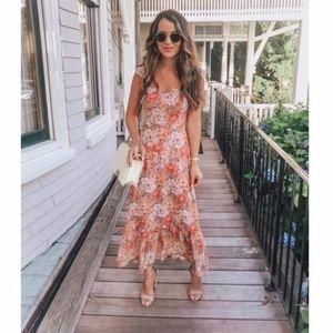 WAYF Valerie Floral Printed Blouson Dress